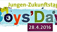 Logo zum bundesweiten Jungen-Zukunftstag