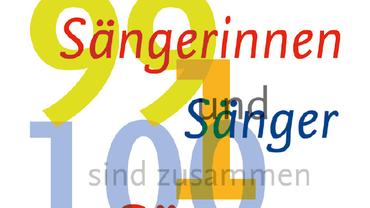 99 Sängerinnen und 1 Sänger sind zusammen 100 Sänger