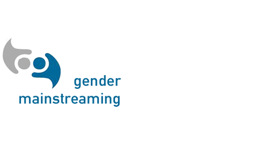 Logo Gender Mainstreaming (Bühne)