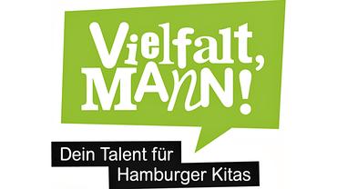 """Logo der Kampagne """"Vielfalt, Mann!"""""""