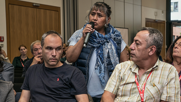 Referentin auf der migrationspolitischen Tagung der ver.di (23.09.2016)