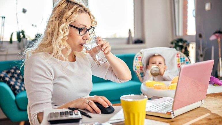 Vereinbarkeit Homeoffice Mutter Kind Work Life