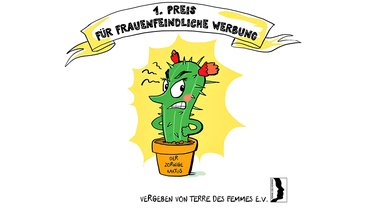 Zorniger Kaktus