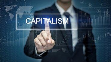 Kapitalismus Digitalisierung Zukunft Mann
