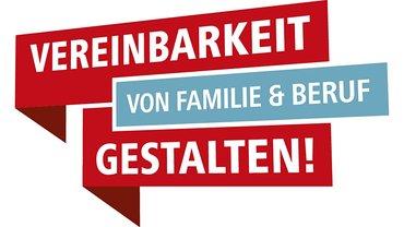"""Logo DGB-Projekt """"Vereinbarkeit von Familie und Beruf gestalten"""""""