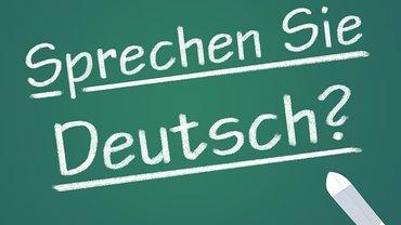 Deutsch Kurs Sprache Tafel Schule